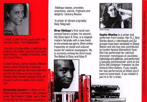 Litfest05 Brochure | Litfest05 festival inner page  Design b