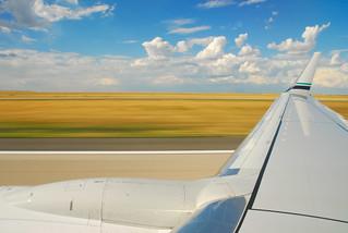 Nearing Takeoff Speed | by ArtBrom