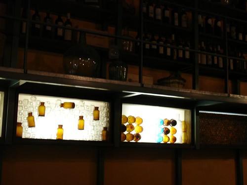 bottles in barca rambla