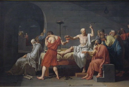 Death Of Socrates (1787)