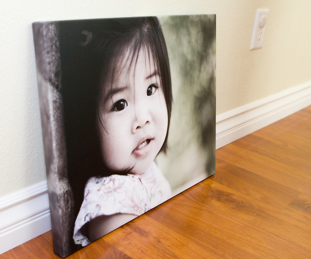 Gallery Wrap from WHCC | My first gallery wrap canvas  Got t