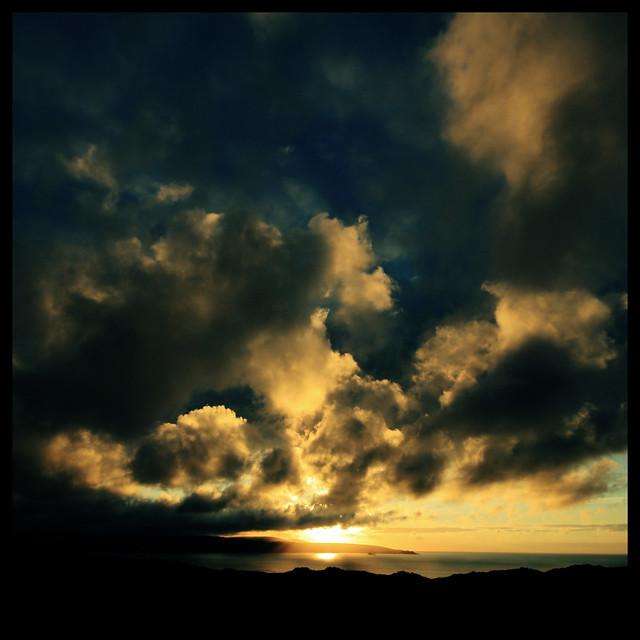 Evening light over St Ives #2