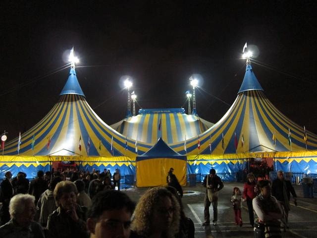 La gran carpa - Cirque du soleil