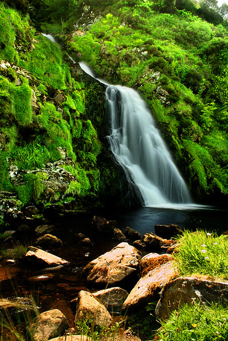 Waterfall in Donegal, Ireland | by atomicpuppy68