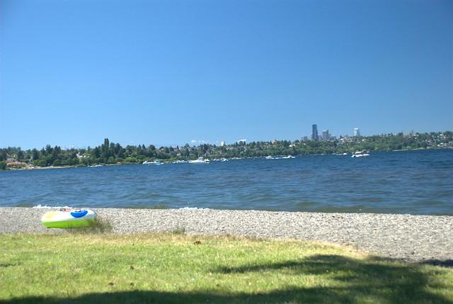 Seattle from Seward Park