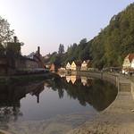 Vltava River,Cesky Krumlov