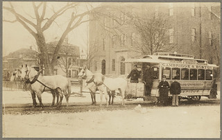 Transportation. Horse-drawn cars | by Boston Public Library