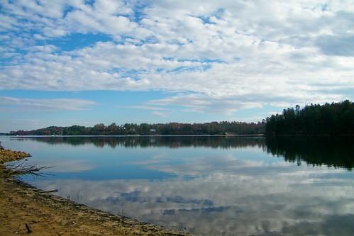 park lake creek james state paddy north carolina