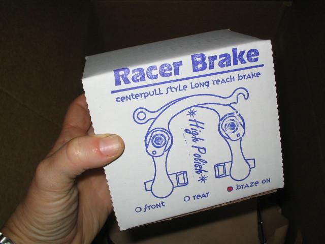Paul's Racer Brake (High Polish!)