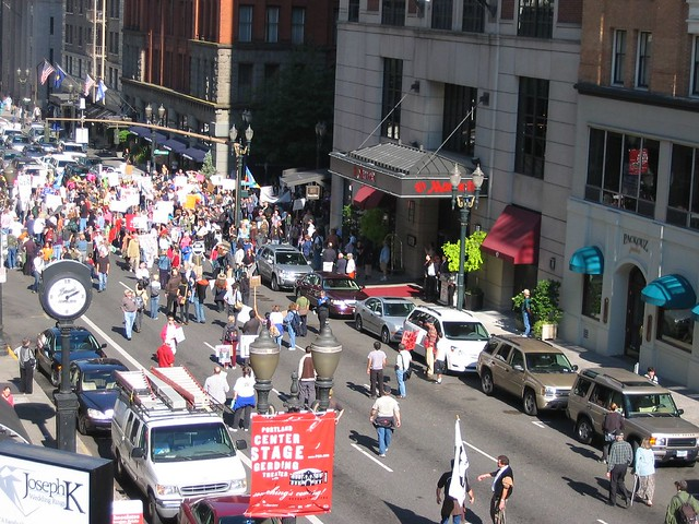 Downtown Portland Protest 2