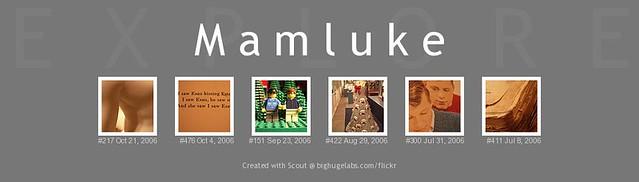 Mamluke Flickr Explore
