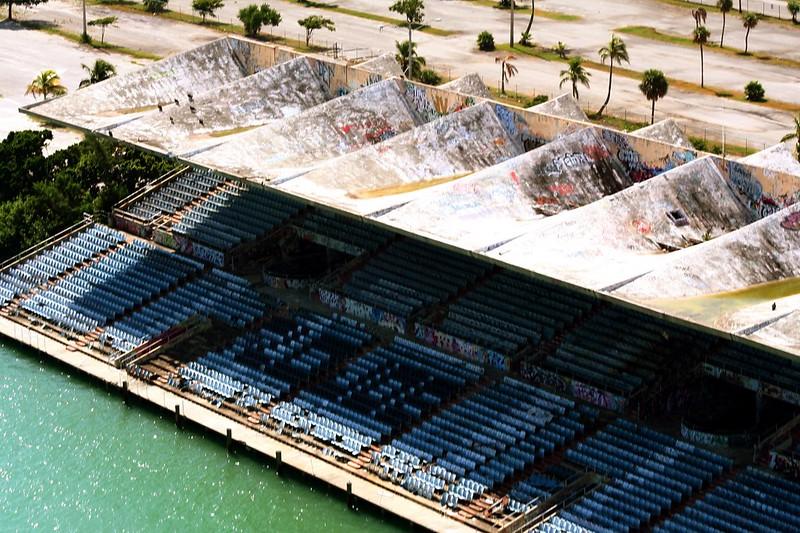 aerial view - Miami Marine Stadium