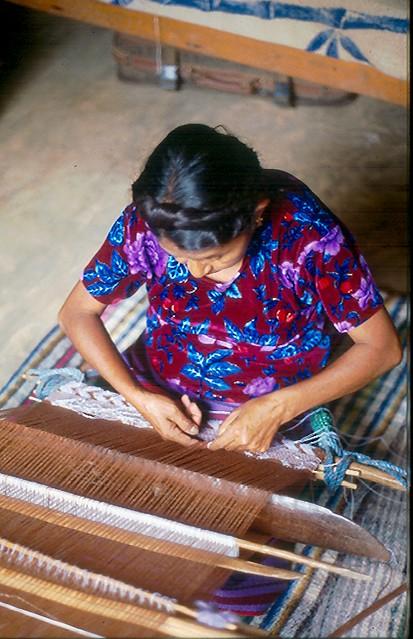 Mixtec Weaver Oaxaca Mexico