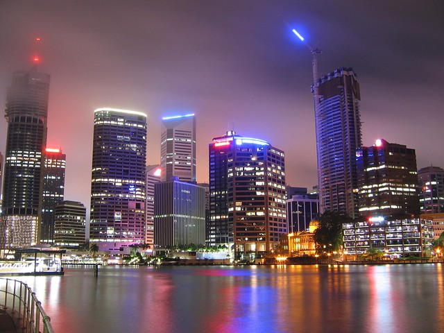 Brisbane City by Night 001