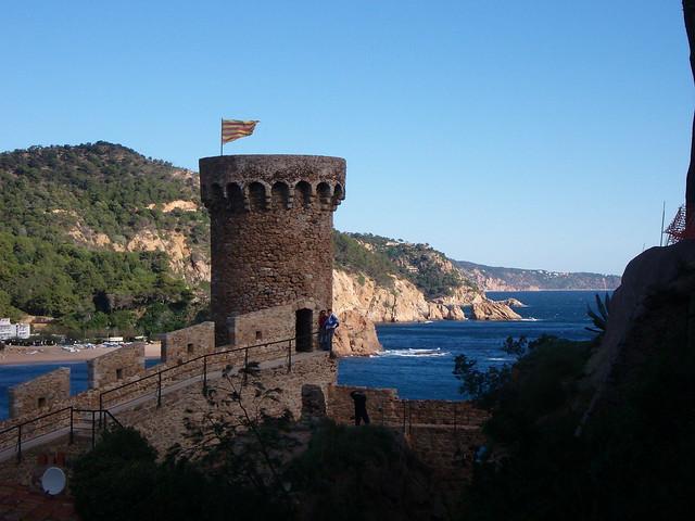 Tossa de Mar castle, Spain