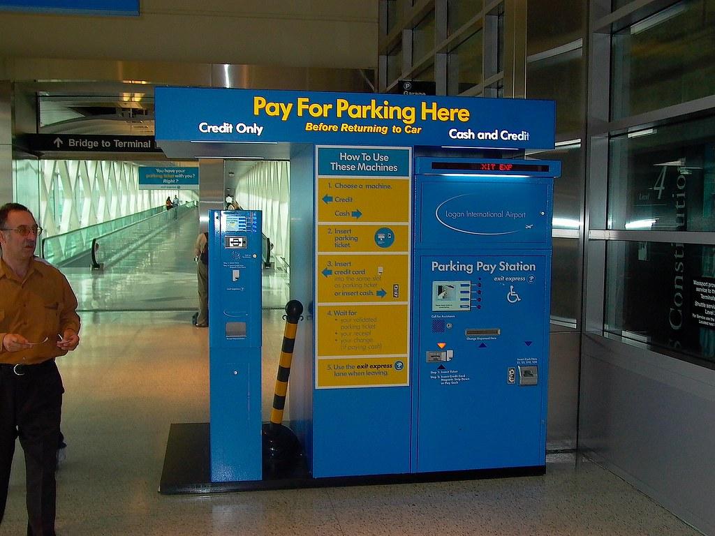 Boston Logan Airport Parking >> Boston Logan Airport Parking Machines Even Fewer Humans To Flickr