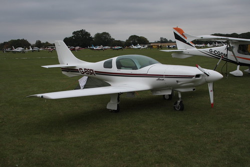 G-BSRI Lancair 235 Sywell 030911 | by peterolding