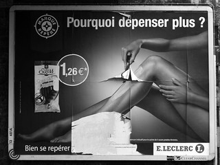 La pub vous rase ? Rasez les murs ! (1) | by Hughes Léglise-Bataille