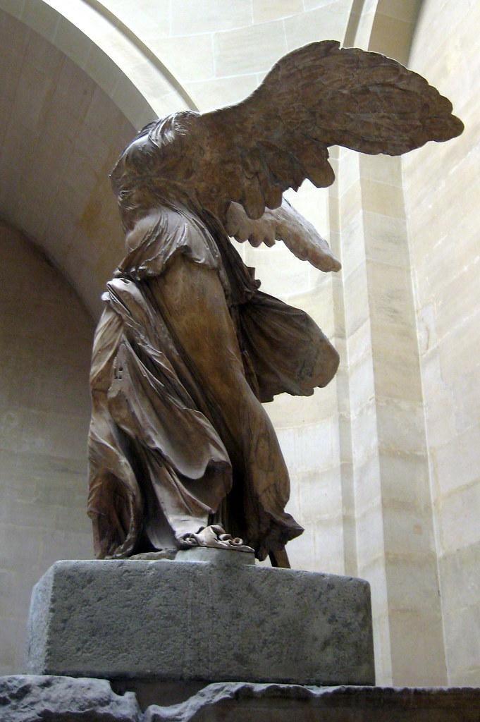 Paris Mus 233 E Du Louvre La Victoire De Samothrace Flickr