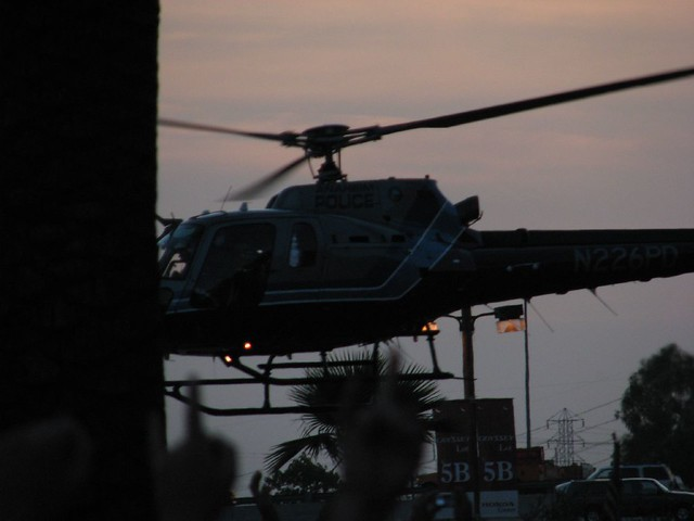 Anaheim PD's copter | Mike Krueger | Flickr