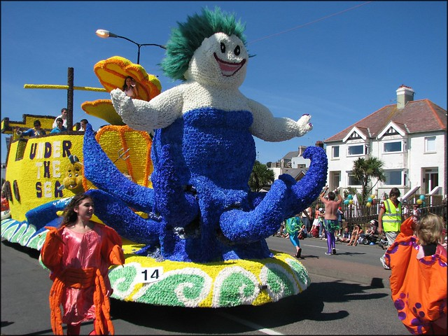 Jersey Young Farmers float - Under the Sea
