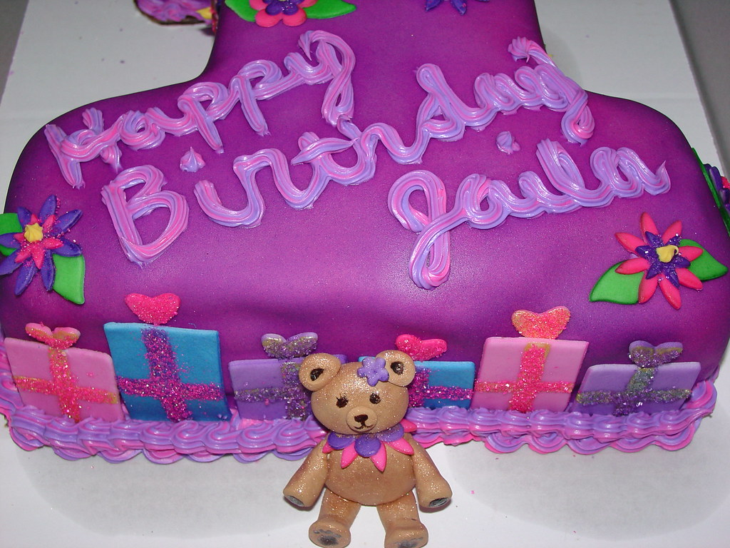 Tremendous Girls First Birthday Cake First Birthday Cake This Is My Flickr Personalised Birthday Cards Xaembasilily Jamesorg