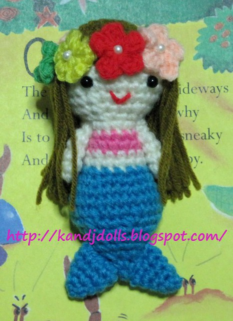 Crochet Marina Mermaid Doll Amigurumi Free Pattern - #Crochet ... | 640x466