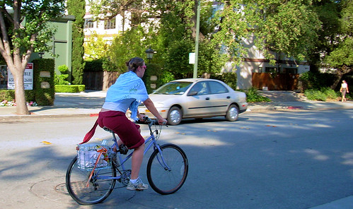 Palo Alto bicycle commuter | by Richard Masoner / Cyclelicious