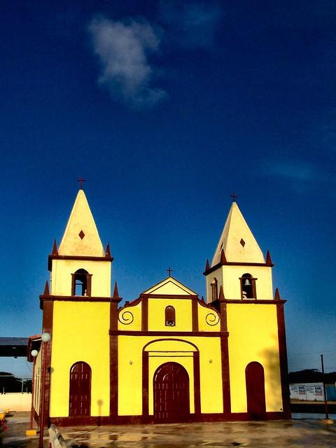 Holy Yellow, Blue sky