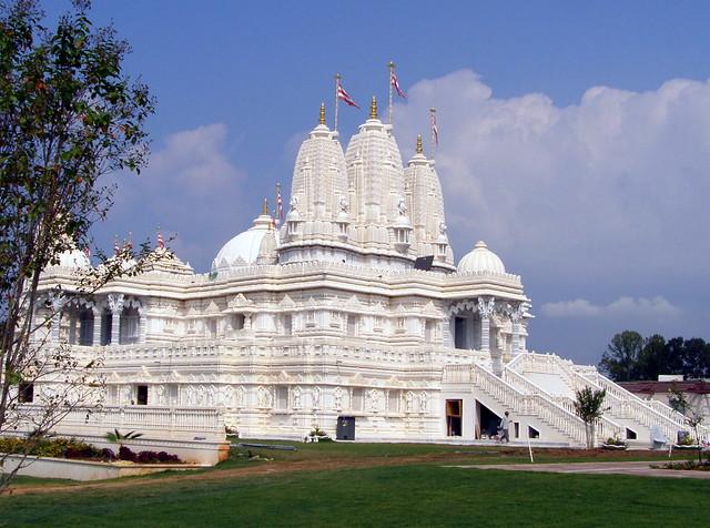 Hindu Mandir (Temple) Lilburn, Georgia - Lawrenceville Hwy #29 @ Rockbridge Rd.