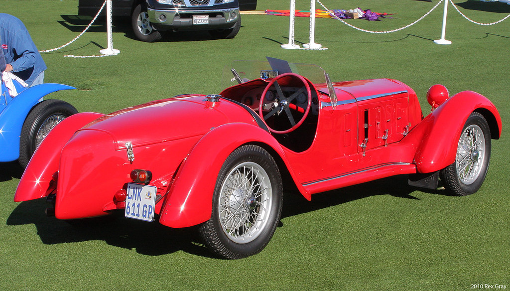 1929 Alfa Romeo 6c 1750 Ss Two Seater Rvr2 Third Annual Flickr