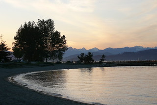 Jericho Beach at sunset | by paige_eliz