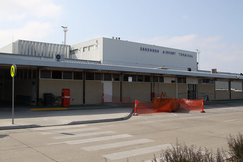 Outside the terminal