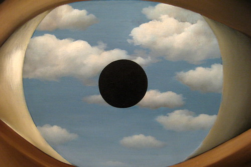 NYC - MoMA - René Magritte's The False Mirror | by wallyg