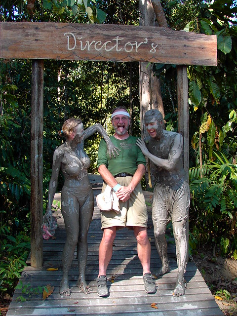 Borneo Mud People attacking me