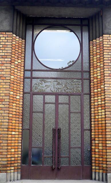 04 octobre 2007 Maisons-Alfort Ecole vétérinaire d'Alfort Porte de la Médecine (3)