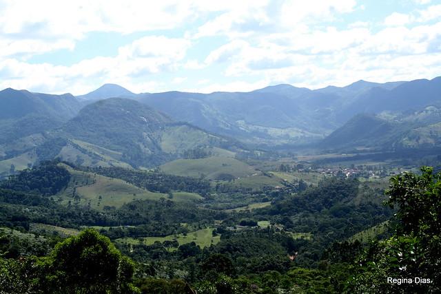 Serra da Mantiqueira na região de Mirantão