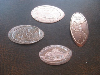 Como Zoo Pressed Pennies | by Kevin D. Hendricks