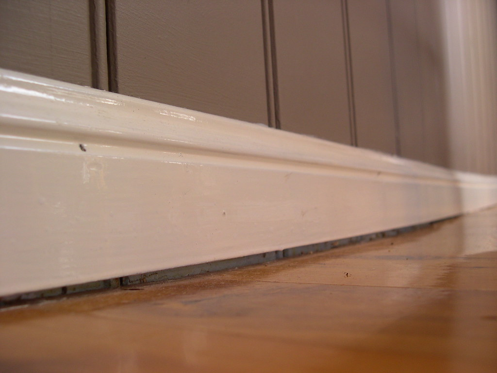 Lifted Up Base Board Skirting   Since lifting our house we h…   Flickr