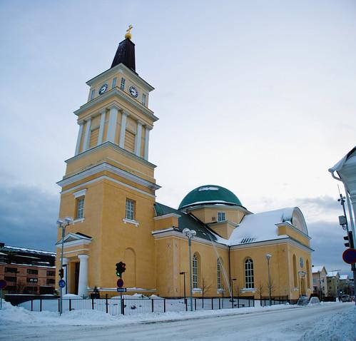 Oulun Tuomiokirkko Virtuaalikirkko