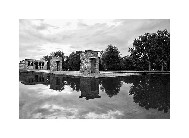 The consecrated place in B&W