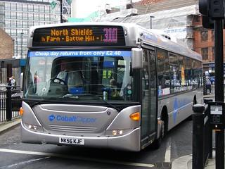 Go North East: 5256 NK56KJF Scania CN230UB   by emdjt42