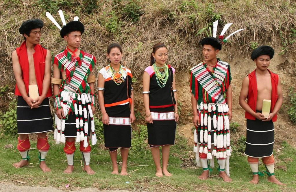 india - nagaland | Chakhesang Naga people at Phutsero villag