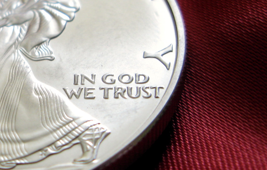In God We Trust What Does The Coin Say Y In God We Trust Flickr