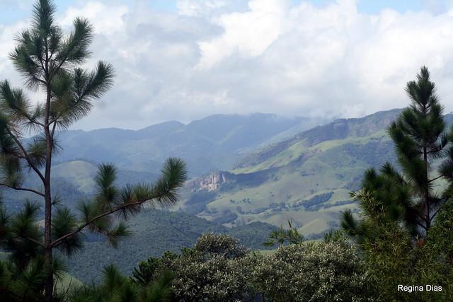 Serra da Mantiqueira na região de Visconde de Mauá