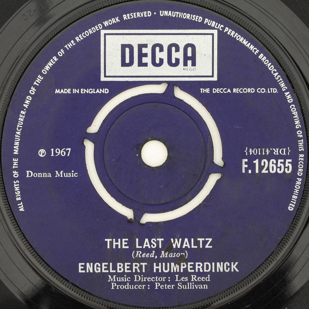 ENGELBERT HUMPERDINCK - THE LAST WALTZ | Even at 60s discos