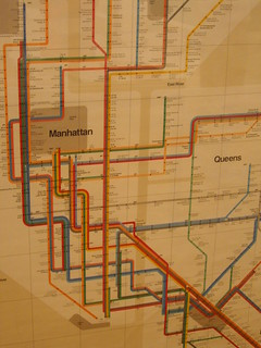 Massimo Vignelli's NY Subway Map | by unresttwothree