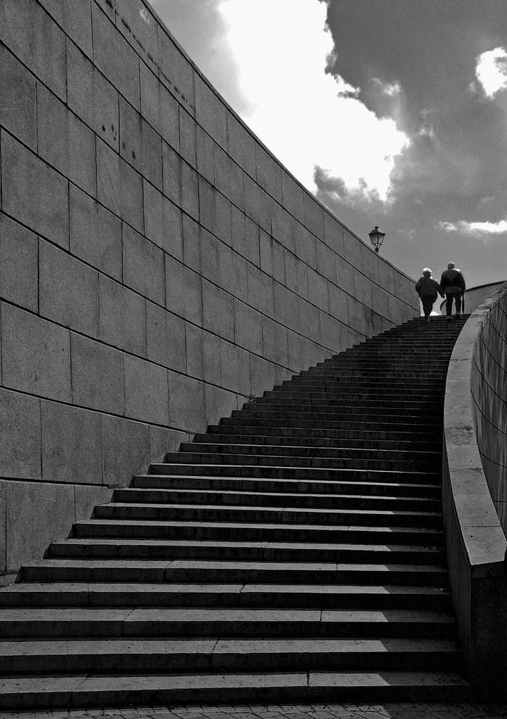 Escalera al cielo...  de mi Madrid