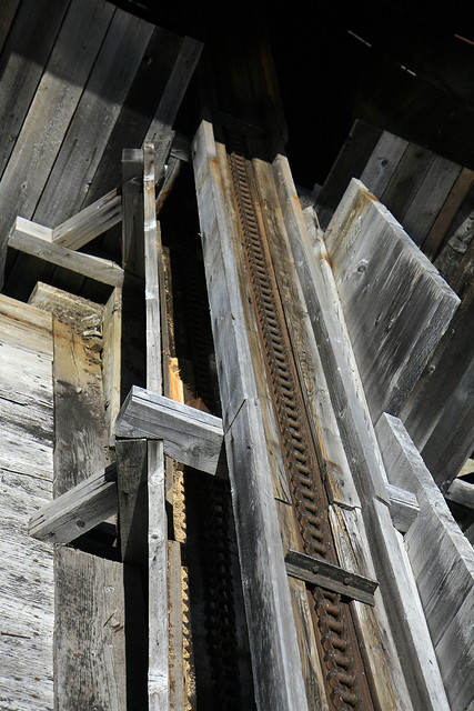 original conveyor at the mill