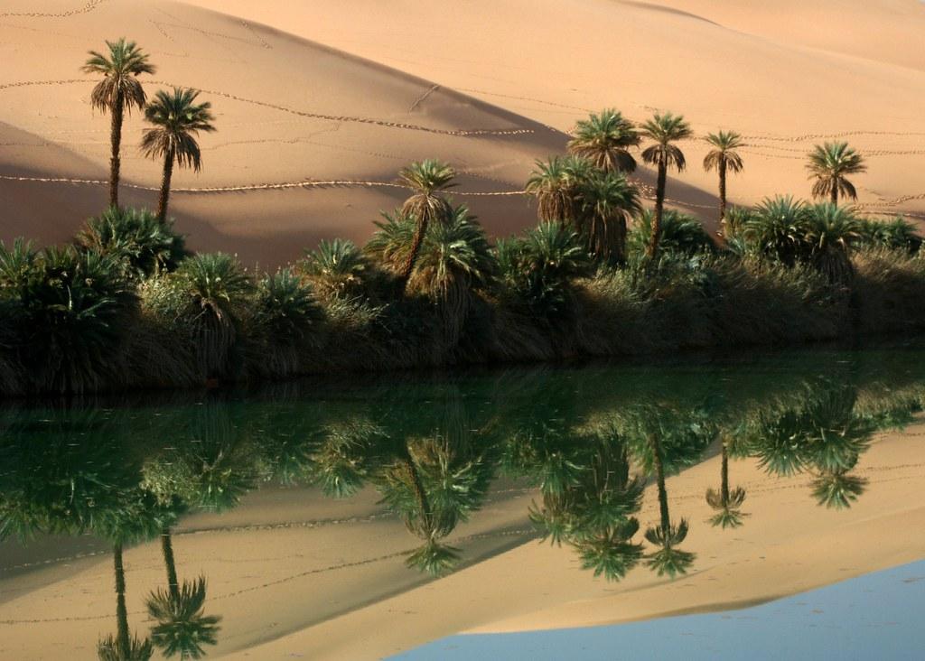 Umm-al-Maa, Libyan Sahara. by © Libyan Soup